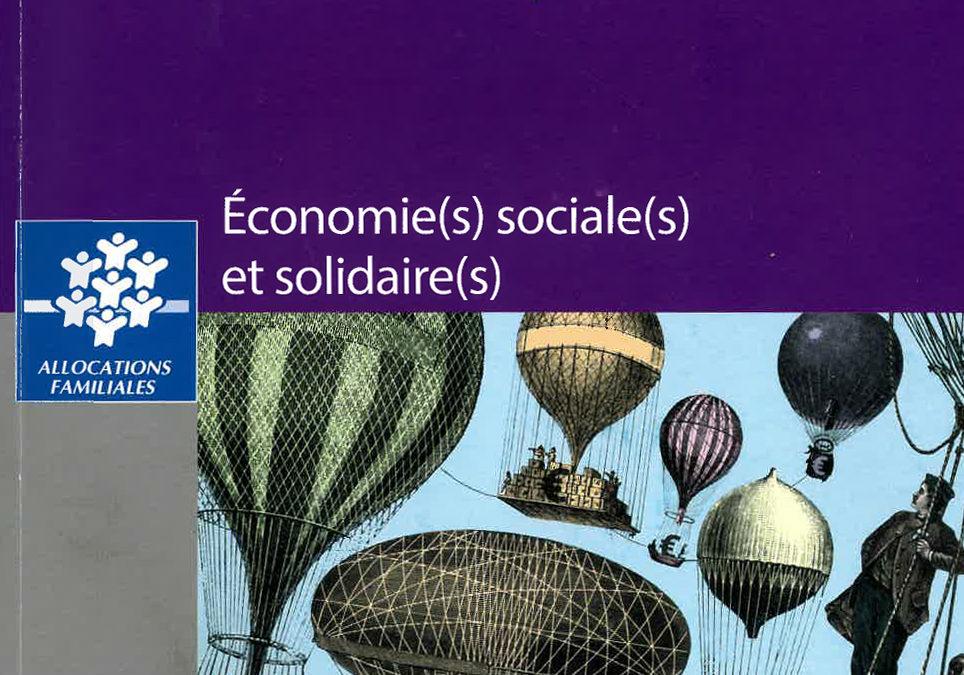 L'économie sociale et solidaire : pour une sociologie des émergences