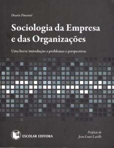 Sociologia da Empresa e das Organizações – Prefácio